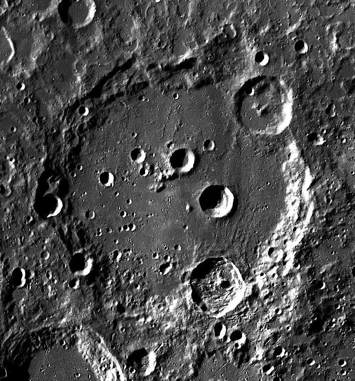Clavius crater - LROC