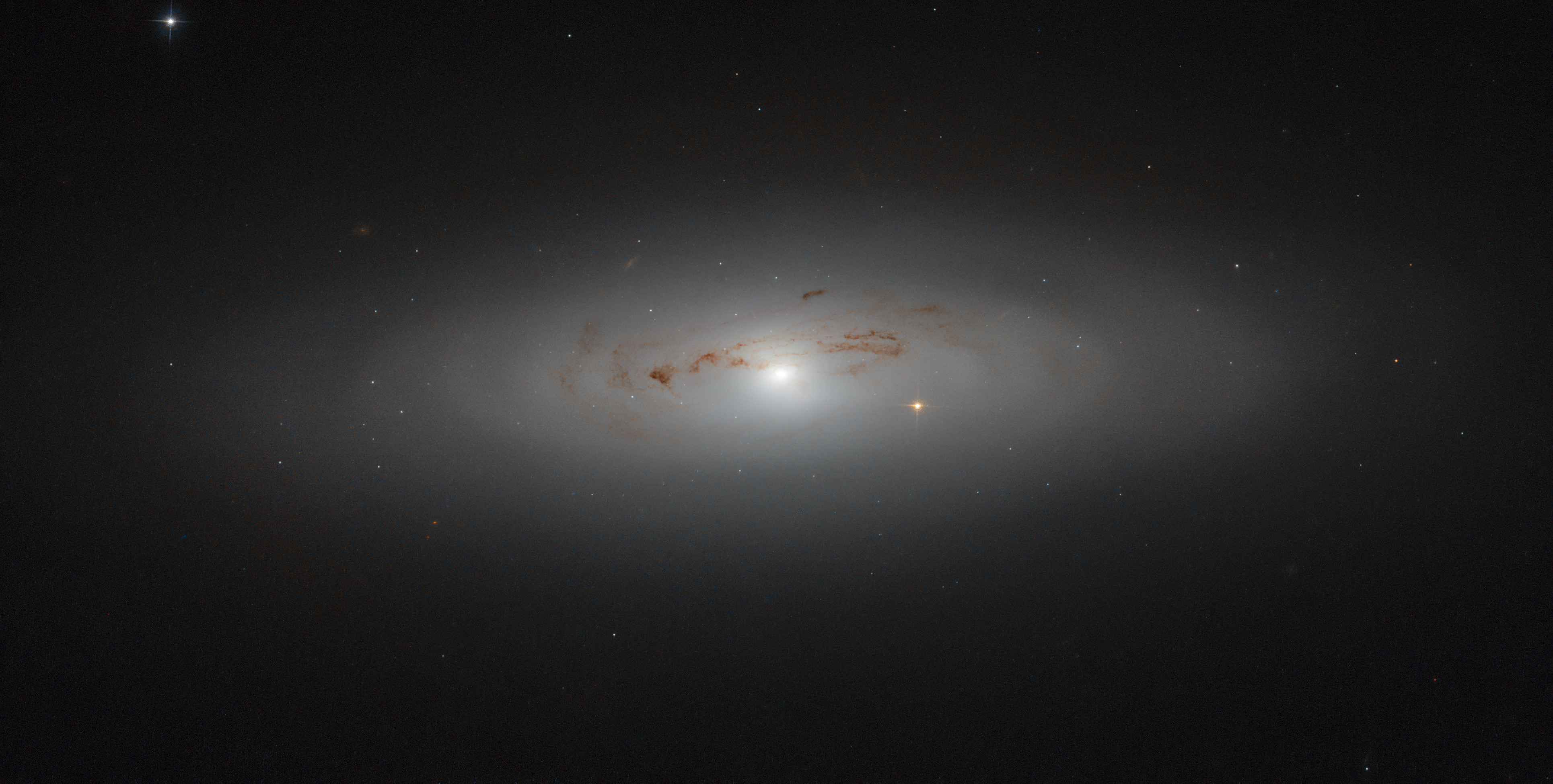 NGC4036 lenticular galaxy