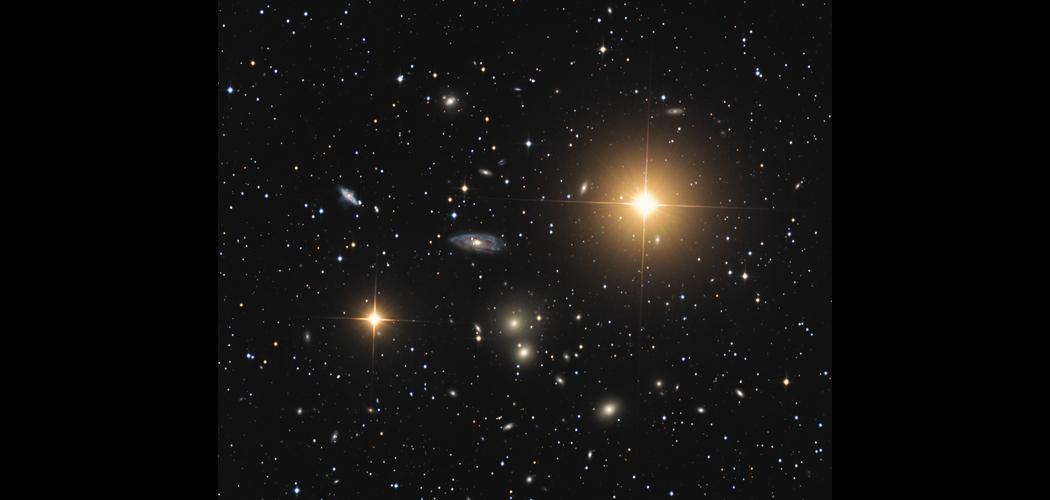 Abell1060 galaxis halmaz (Hidra I halmaz)