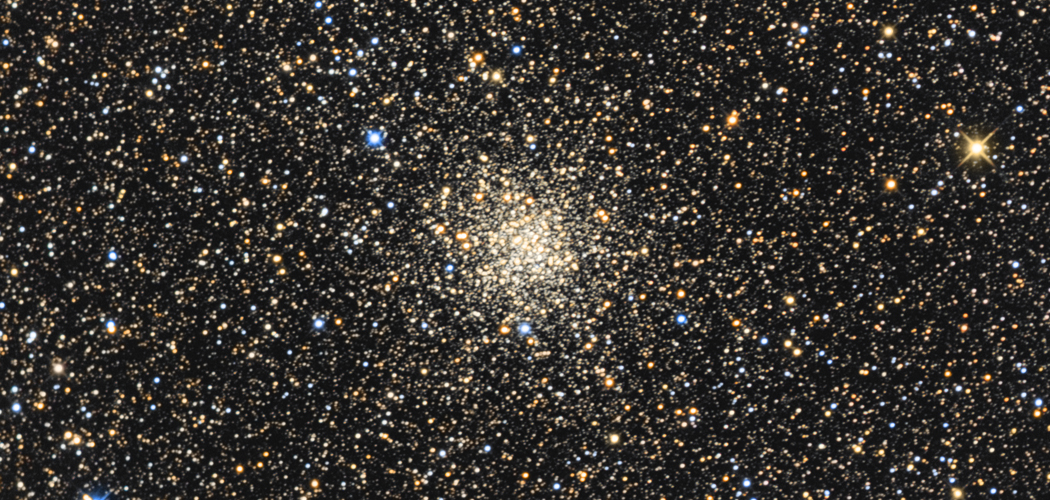 M71 – Gömbhalmaz a Tejút csillagai mögött