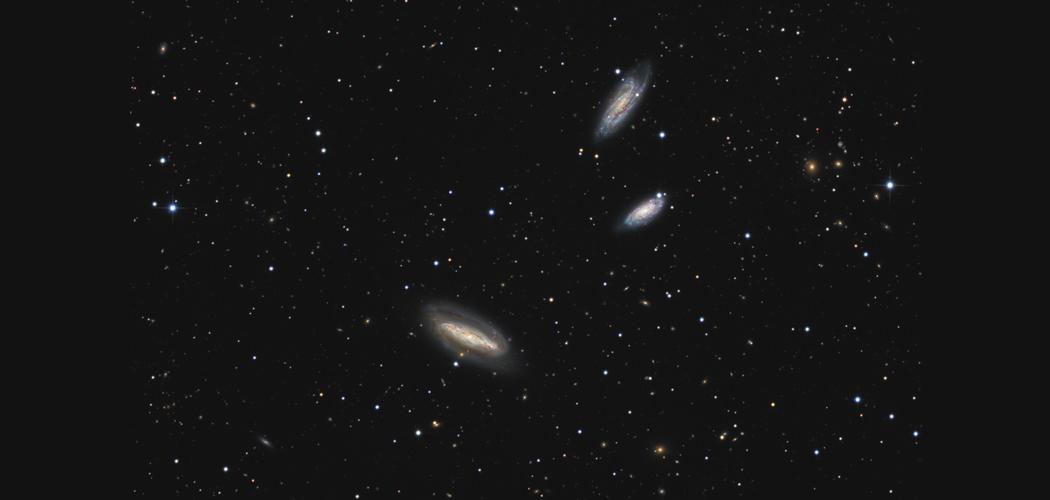 NGC7582, NGC7590, NGC7599 – A Grus Kvartett háromnegyede, s még sokan mások
